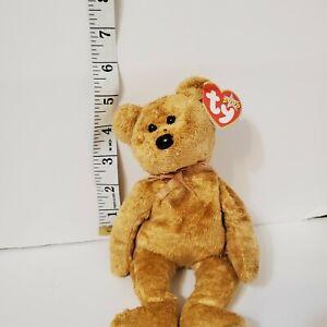 Ty Beanie Baby Cashew bear 2000