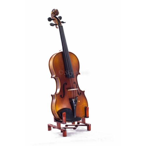 NEW Solid Wood Intermediate Plus 1//10 Violin VN302 w Case Bow Rosin String