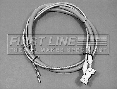 FORD ESCORT Mk6 1.6 Handbrake Cable Rear 95 to 00 Hand Brake Parking Firstline