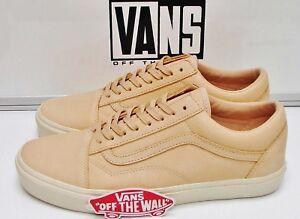 2e07b2e8c56 Vans Old Skool DX Veggie Tan Leather Tan VN-0A32GJLUI Men s Size ...