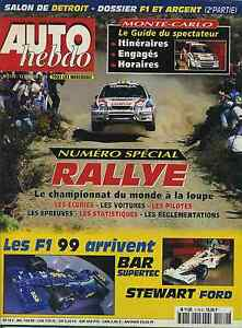AUTO-HEBDO-n-1170-du-13-Janvier-1999-SPECIAL-RALLYE-GUIDE-MONTECARLO-1999