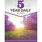5 Year Daily Diary by Speedy Publishing LLC (Paperback / softback, 2015)