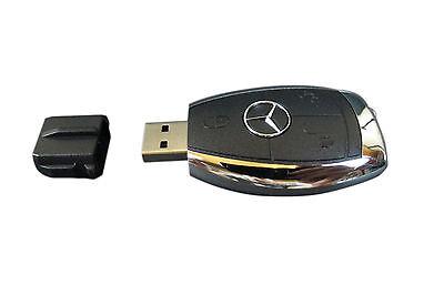 64 GB Mercedes Benz Car Key USB 3.0 Flash Drive Memory Card Stick True Capacity