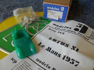 Bien Lotus Xi 11 Onze Modelos 3j Resin Kit Plastique Le Mans 1957 Portugal Boxed Comme Neuf-afficher Le Titre D'origine Assurer IndéFiniment Une Apparence Nouvelle