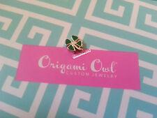 ORIGAMI OWL 2012 Original 4 leaf clover Charm Very RARE and HTF