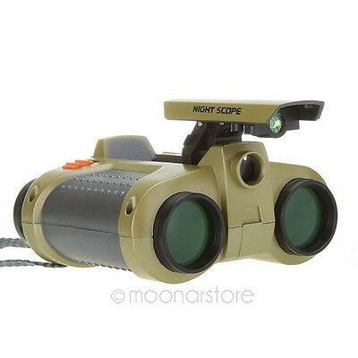 Hot Binoculars Surveillance Telescopes 4x30mm With Pop-up Light MI