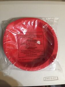 New Tupperware Magic 9 Quot Round Silicon Baking Form Red