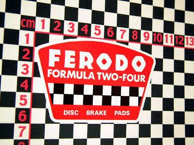 Small Ferodo Dealer Sticker Edinburgh Mini Cooper S Van Mk1 Mk2 BMC Austin