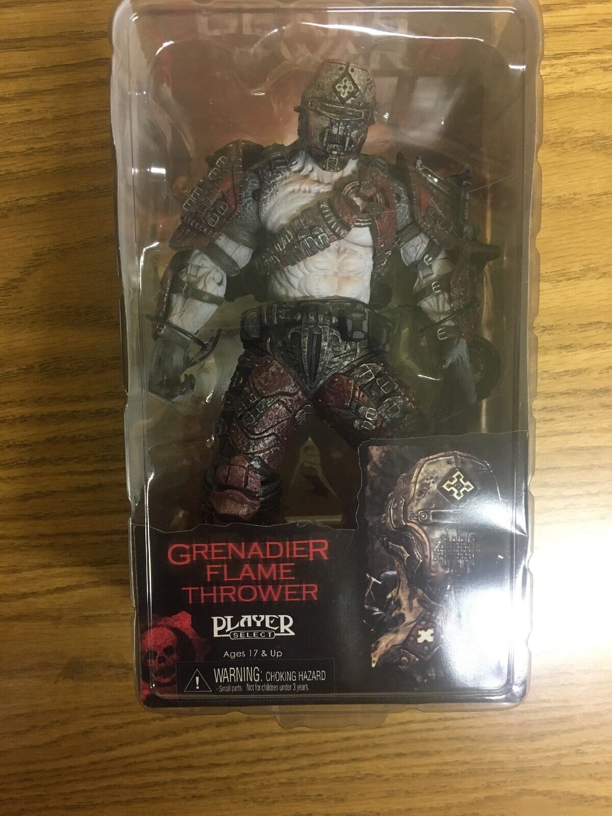 Gears of War 2  Grenadier Flame Thrower    azione cifra 2009 f23b26