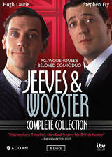Jeeves and Wooster - The Complete Collection (DVD, 2014, 8-Disc Set) Free ship