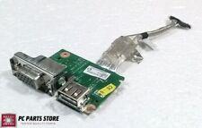 """Toshiba Satellite 14/"""" L645D-S4040 USB VGA Port Board w//Cable DA0TE2IB6E0 GLP*"""