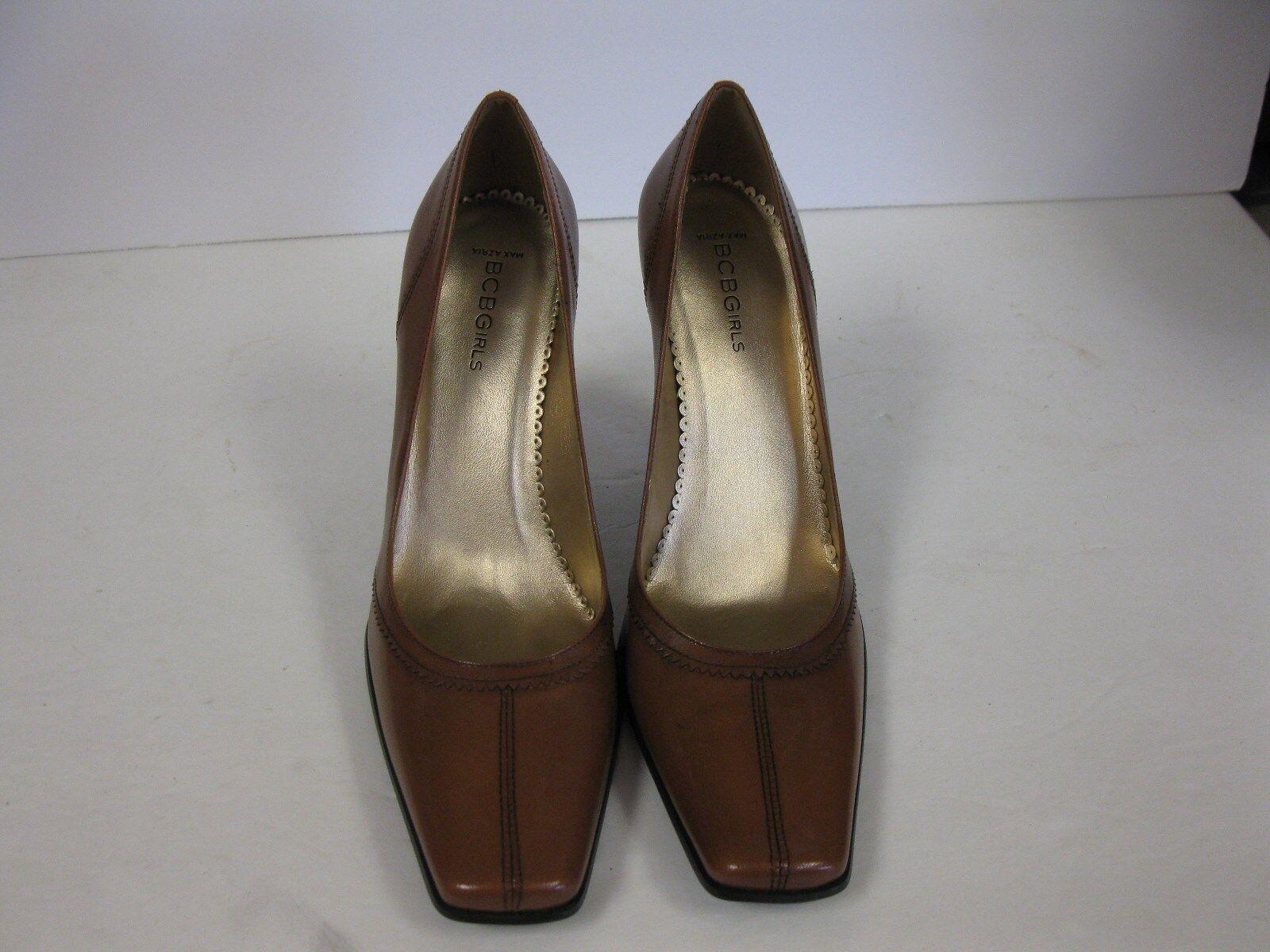 vendendo bene in tutto il mondo BCBGirls Max Azria  Padua  Donna    Marrone Square Toe Leather scarpe Dimensione 10B toast  punti vendita