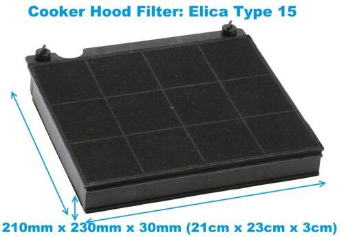 Hotpoint HXB6DX HXB6X HXB9DX HXB9LSX HXB9X Cappa Estrattore Filtro di carbonio