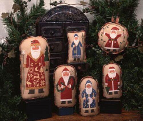 Prairie Schooler Counted Cross Stitch Patterns YOU CHOOSE Santas HALLOWEEN