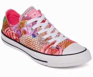 6dd8c875caf3 Image is loading Women-Converse-Chuck-Taylor-AS-Digital-Floral-Ox-