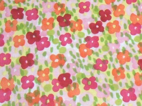 Alexander Henry Vivie Bloom SALE Contemporary Floral 7698A Multi//Citrus BTY