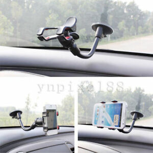 Car-AUTO-ACCESSORIES-Rotating-Phone-Windshield-Mount-GPS-Holder-Universal-360