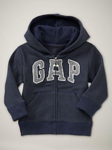 NWT Baby GAP Arch Logo Hoodie Hooded Sweatshirt Blue Galaxy Boys 12-18 18-24 2T