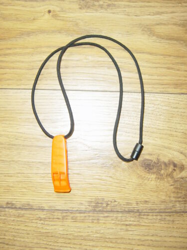 WATERSPORTS QUALITY NEXUS MARINE SAFETY WHISTLE AND SAFETY CONNECTER LANYARD