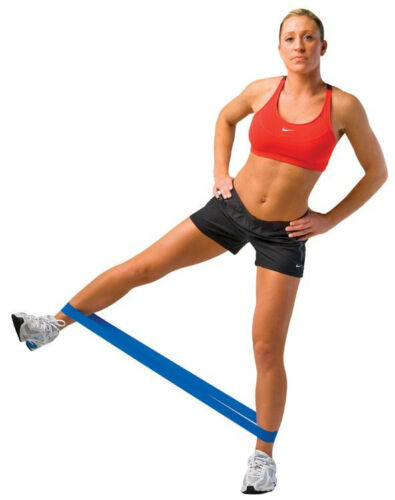 RESISTANCE LOOP Gym Workout Elastic Pilates Yoga Exercise Stretch Bands CHOOSE