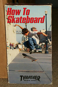 Thrasher-How-To-Stakeboard-VHS-Vintage