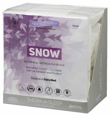 SNOW Protect-A-Bed Queen mattress protector 844928034804 ...