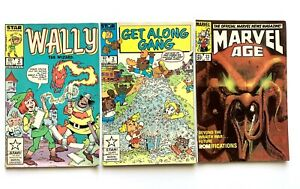 Marvel-Vintage-Comic-Book-Lot-Of-3-VF-NM