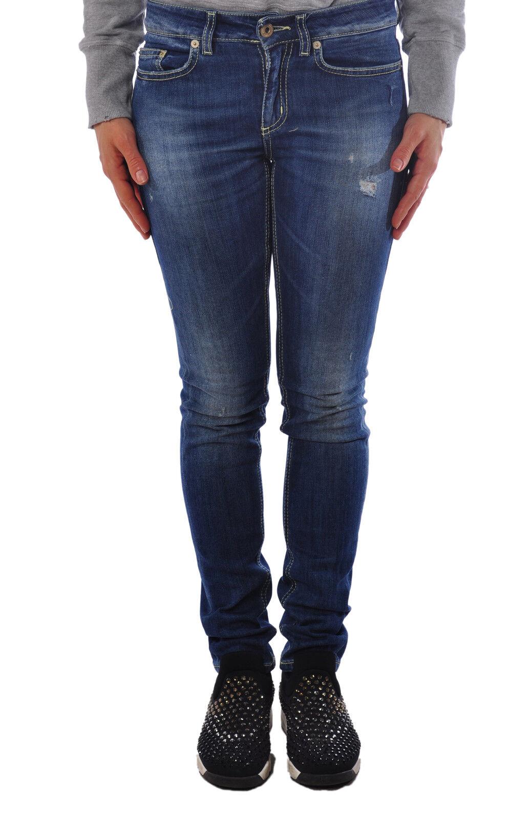 Dondup  -  Pants - Female - 28 - Denim - 1317502B162241