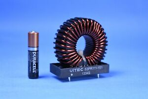 High Current Toroid Inductor 1.25mH 7A 2.5 PFC /& Amplifier Crossover Pro-Audio
