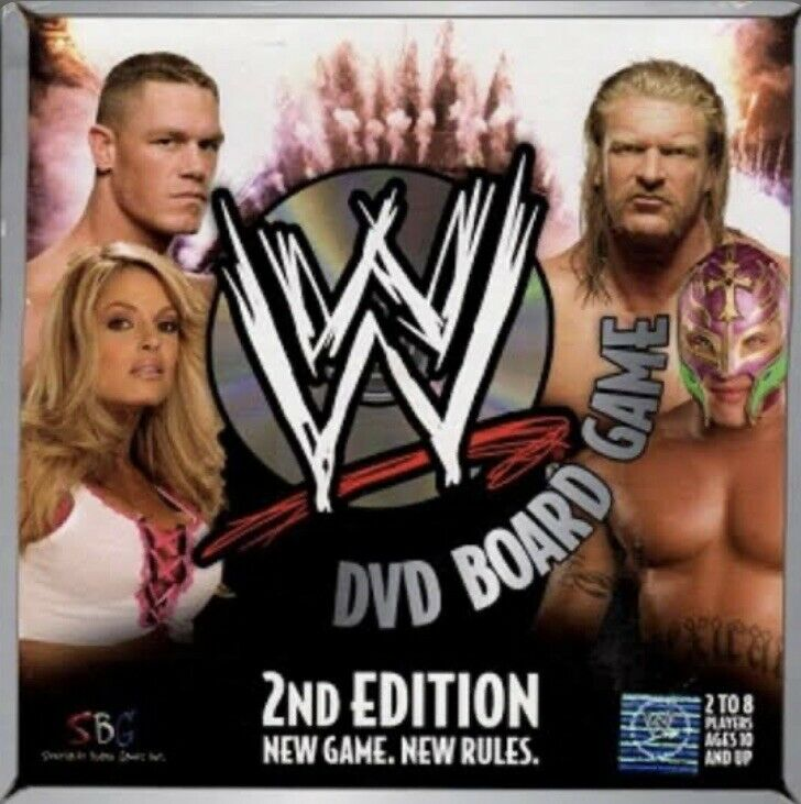 Wwe Dvd Board Game 2nd Edition For Sale Online Ebay