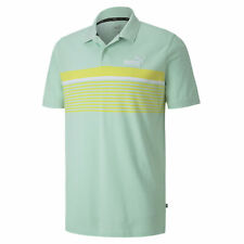 PUMA Men's ESS+ Striped Polo