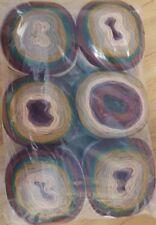 Pack Of 6 Chimera Mandala Yarn 150g Cake wool knitting crochet DK rainbow