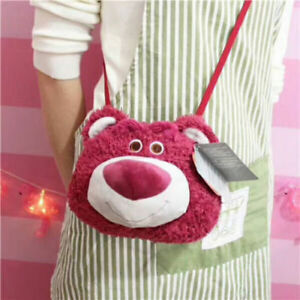 Disney-Toy-Story-Lotso-Bear-Strawberry-Smell-Face-Shoulder-Bag-Plush-Toy