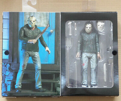 """NECA Friday the 13th Part 2 II Jason Voorhees Ultimate 7/"""" Action Figure 1:12 NIB"""