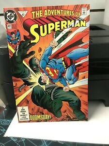 Adventures-of-Superman-497-Dec-1992-DC-DOOMSDAY-NM-UNREAD-FIRST-PRINT