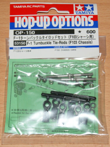 F103RM//F103RS//F103RX F103 Châssis Tamiya 53150 F-1 Turnbuckle Tie Rods Neuf sous emballage