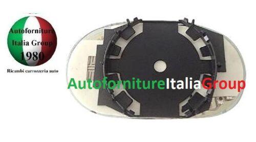 PIASTRA SPECCHIO SPECCHIETTO RETROVISORE C//VETRO SX FIAT COUPE/' 1993/>2000