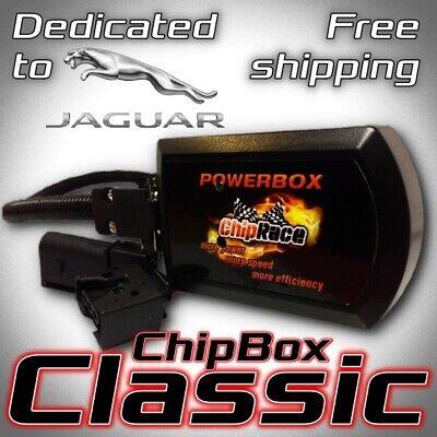 Chiptuning Jaguar X-Type 2.2 D 107kW 146PS Race Power Tuning Box