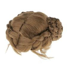 "Dark Brown Braids Hair Wig 6-7"" for 1/6 BJD/SD/DOD Dollfie Costume Accessory"