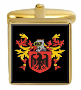 17 1/4' Kearin Irland Familie Wappen Familienname Wappen Gold Manschettenknöpfe
