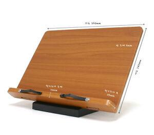 Book Holder Portable Reading Desk Stand Document