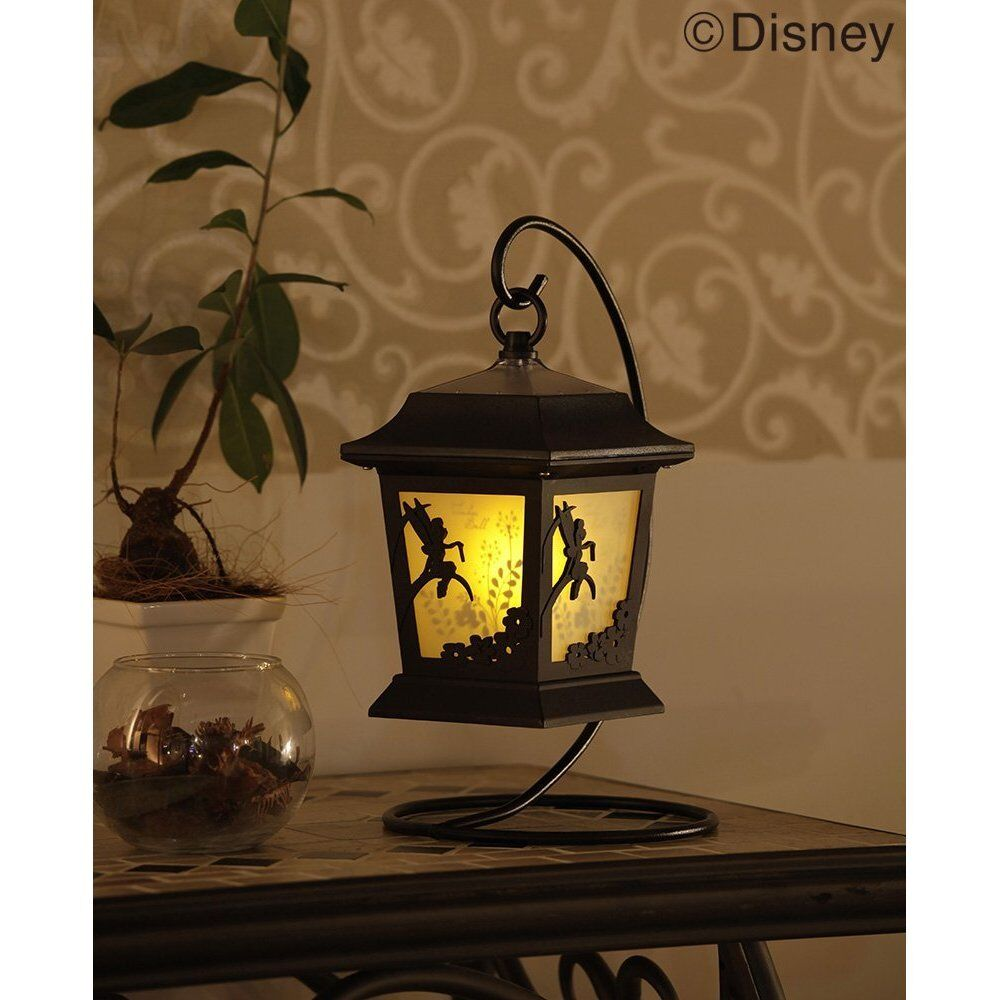 Tinker Bell Solar Lantern Garden Light  Lamp Without wiring From Japan