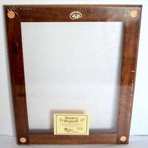 image is loading nos black walnut country originals wood picture frame - Mid Century Modern Picture Frames