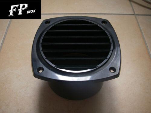 Grille Noire plastique Pour Gaine d/'aération 125mm x 125 mm