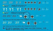 Peddinghaus 1/48 Otto Carius Tiger I and Jagdtiger Markings WWII (4 tanks) 2974