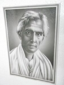 SARAT-CHANDRA-CHATTAPADHAYA-Poster-unique-nice-INDIA-famous-personality-16-034-11-034