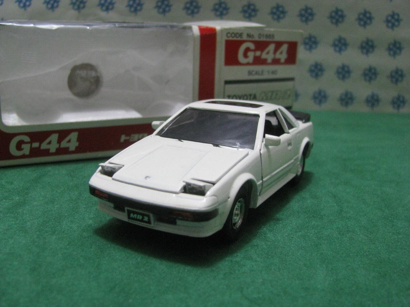 Vintage - TOYOTA MR2 - 1 40 G-44 Diapet Yonezawa toys n°01665