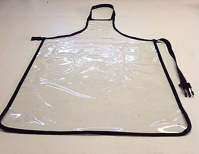"Apron , Clear Heavy Duty Waterproof,Vinyl  27"" x 36*"