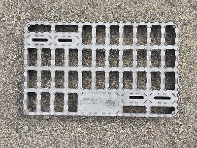 Stand- & Tretroste Heimwerker Genial Original Braas Sicherheitstritt Aluminium 410 X 250 Mm