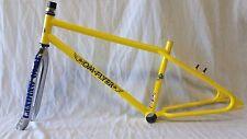 "2016 SE Racing OM Flyer 26"" BMX Bike Frame & Fork Retro Cruiser Yellow"